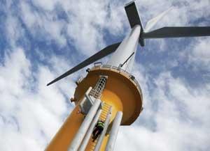 Siemens offshore turbines