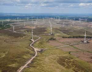 Whitlee windfarm