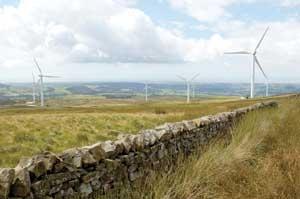 Caton Moor wind farm