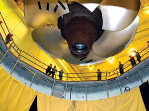 200-kW horizontal Francis turbine