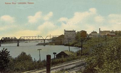 A bowersock Mill postcard