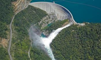 New Bullards Bar Dam and Reservoir,