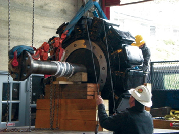 For major equipment overhaul or repair work, NAES Corporation provides trained personnel who can get the job done quickly and effectively.