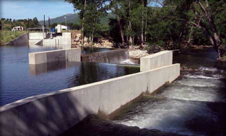 Installation of a fish passage is included in the construction plans for Sauveterre.