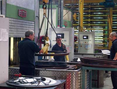 Workers at James Walker's Cockermouth facility can manufacture shaft seals with a diameter of up to 2.3 meters. (Photo courtesy David Appleyard)