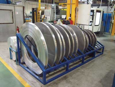 Seal forms used in the presses are manufacturerd from aluminium at the company's Cockermouth site. (Photo courtesy David Appleyard)