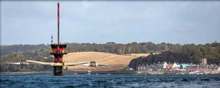 The 10 MW Skerries Tidal Stream Array, Wales' first commercial tidal farm, recently received consent from the Welsh government. It will feature five 2 MW SeaGen tidal stream turbines supplied by Marine Current Turbines.