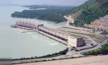 The 3,400 MW Tarbela plant has been expanded through the repair of three turbines.