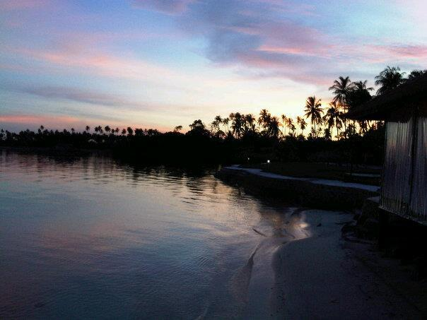 Scenic Indonesian island Bintan, known for its geothermal resources which are already used for commercial spas
