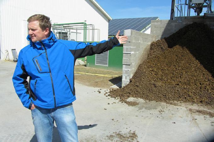 Livestock producer near Husum, Germany