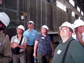 Hydro Research Foundation fellows participated in various portions of Hydro-Vision International, including the technical tours.