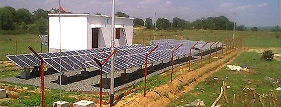 Solar can power even the remotest villages