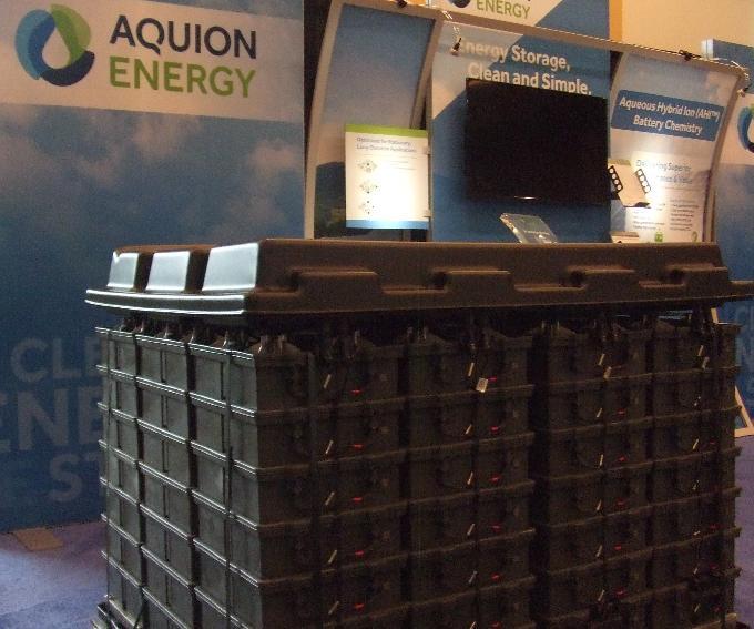 Aquion storage