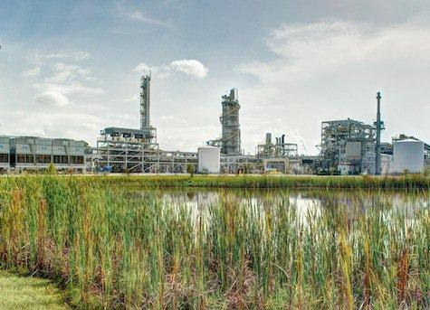 INEOS Bio New Planet Energy's 8 million gallon cellulosic ethanol plant in Vero Beach, FL — also producing a healthy stream of renewable power.