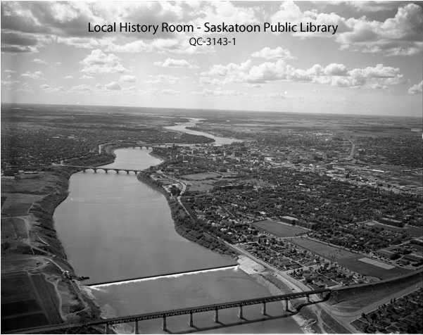 South Saskatchewan River Weir