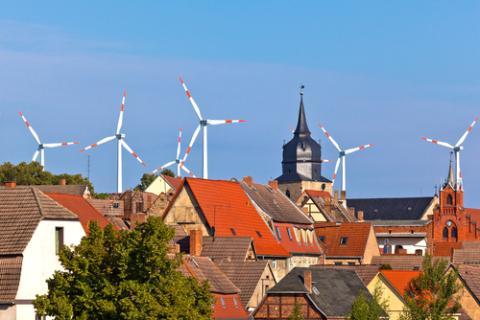 Germany wind turbines. Credit: Shutterstock.