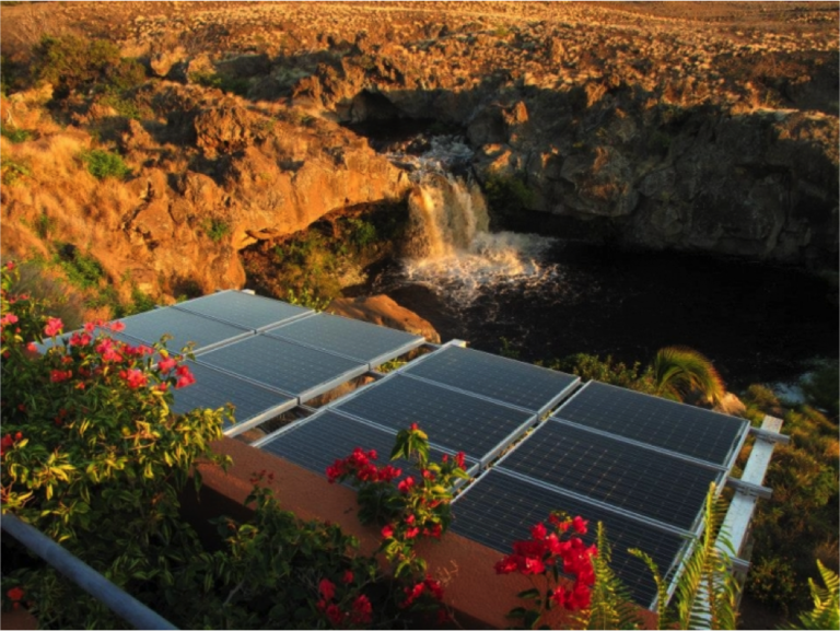 Hawaiian Home a Solar-Battery Storage Microgrid Showcase