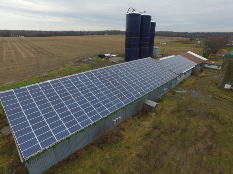 SEI Solar Panels as Cash Crop for Ontario Farm