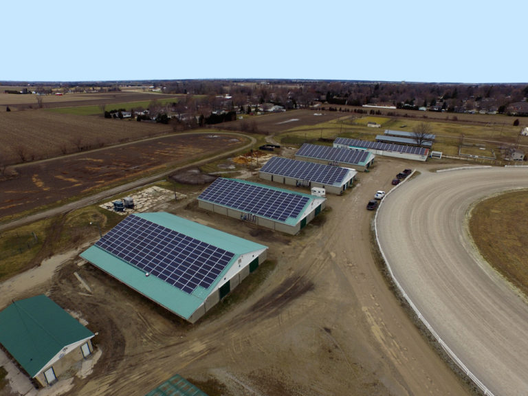 140-year-old horse racetrack uses solar to cash in on green energy