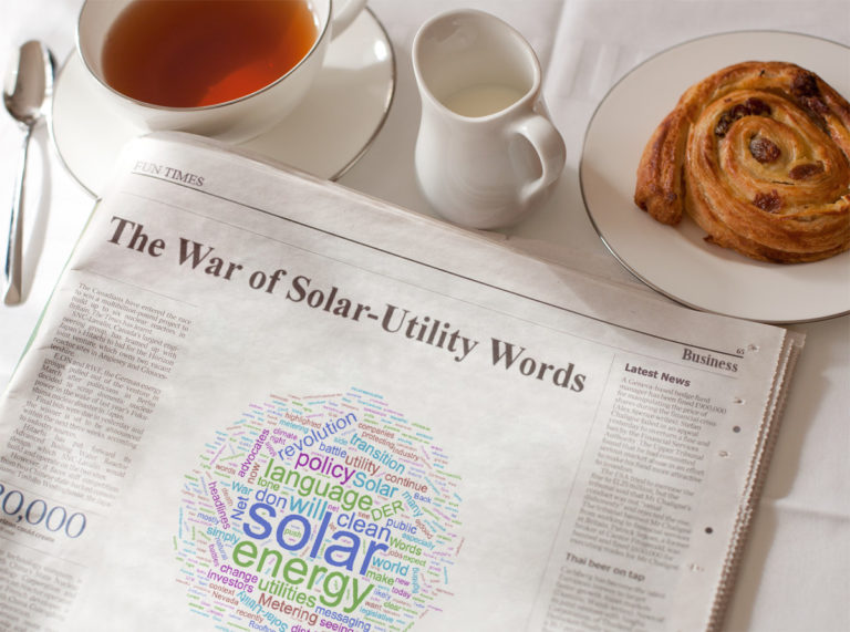 Is It Time to End the War of Solar-Utility Words?