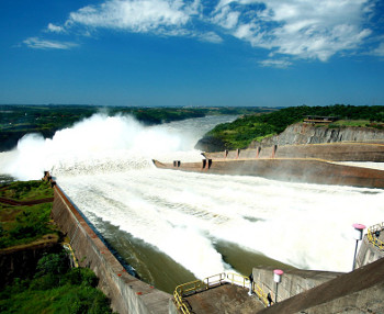 Itaipu welcomes heavy rains as Brazil's drought continues