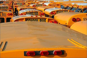How School Buses Could Help Run Air Conditioners During Peak Demand