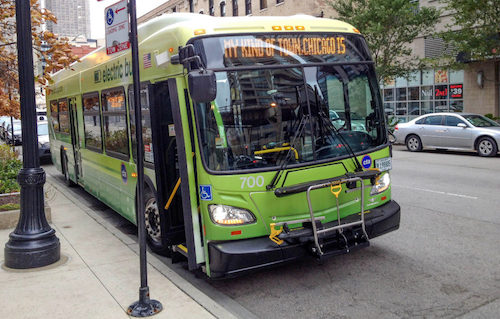 How Chicago's New Electric Buses Could Help Balance the Smart Grid