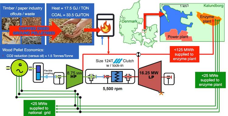 Phasing out coal in Denmark via bioenergy-based CHP
