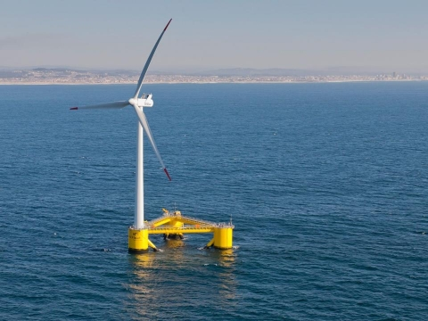 Another California First: Floating Wind System Proposed Off Morrow Bay