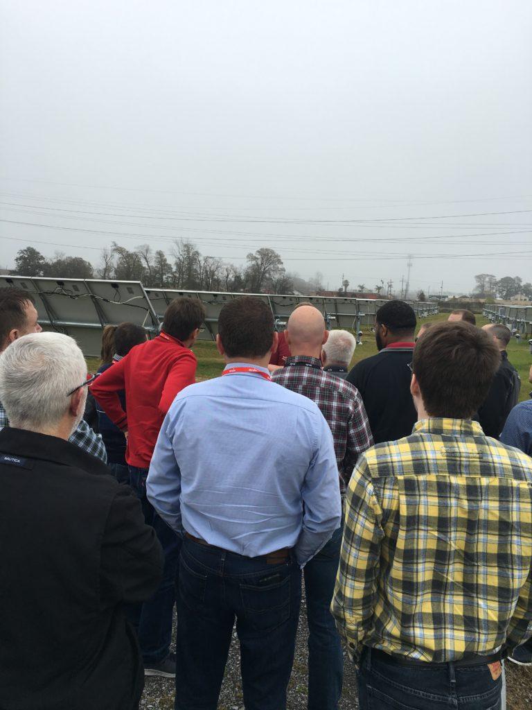Tour Highlight: Pilot Solar Farm Offers Lessons Learned