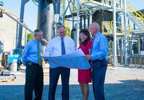 Tennessee Mayors Preview Waste-to-energy Plant