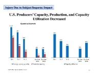 ITC Hears Testimony on Expanded China Solar Dumping