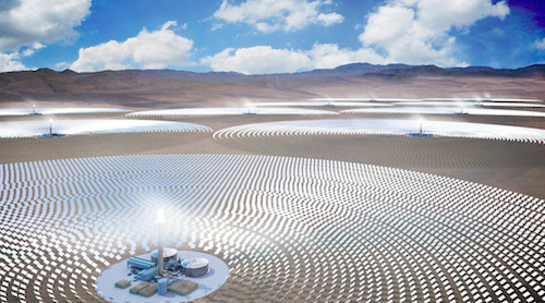 SolarReserve Introduces Gigawatt-Scale Solar Thermal Storage Project for California
