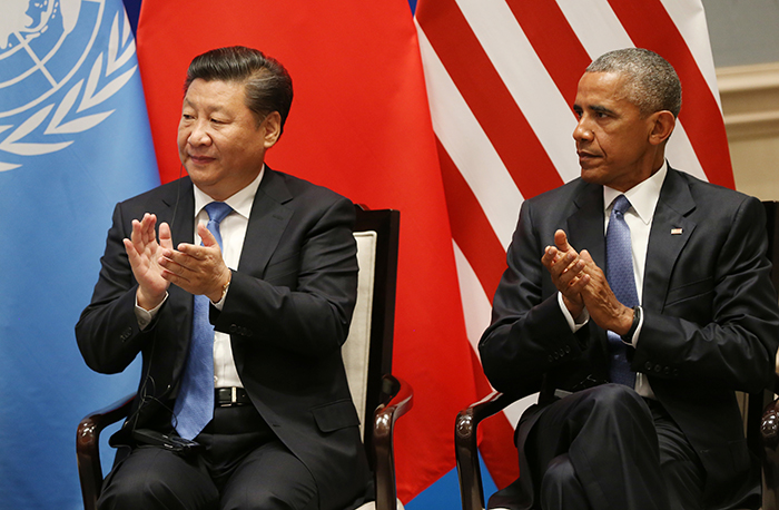 U.S. and China formally join the Paris climate change agreement