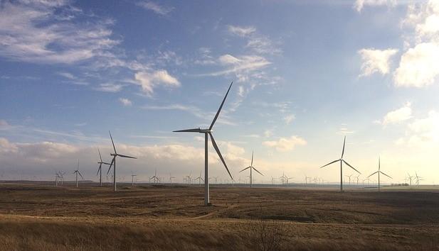 Whitelee onshore windfarm