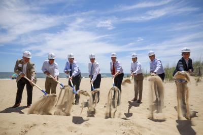 Dominion Energy begins construction on Coastal Virginia Offshore Wind project