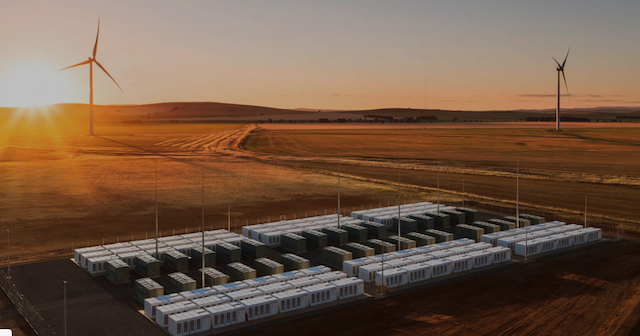 The Hornsdale Power Reserve project in South Australia