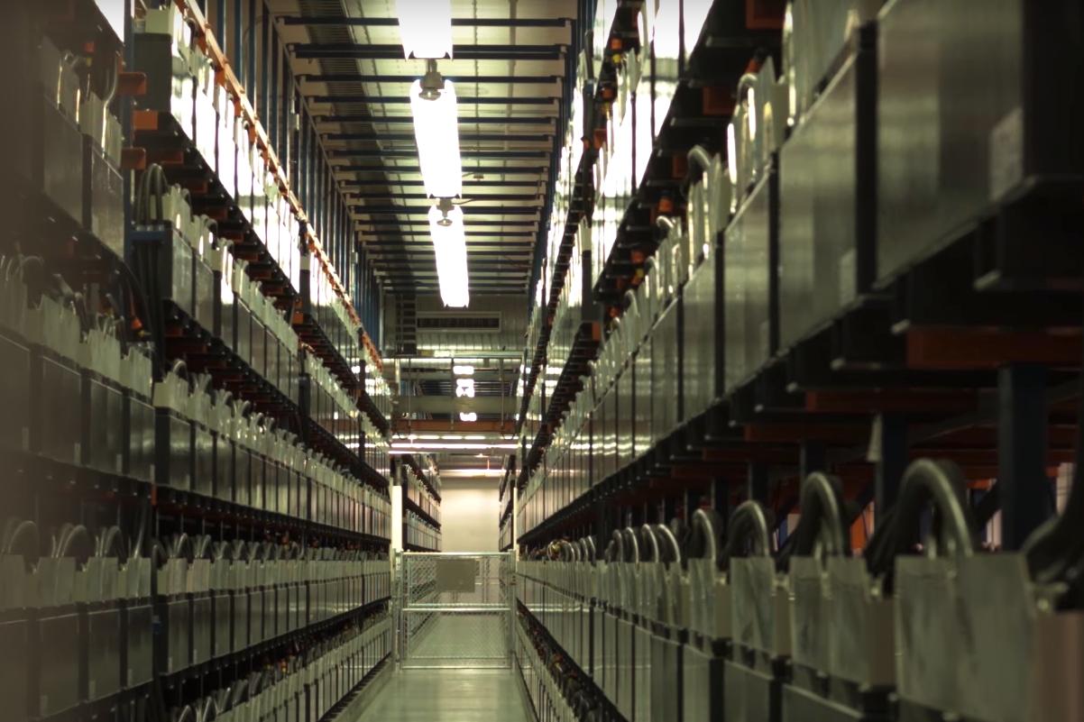 GVEA - World's Largest Battery System. Credit:ABB