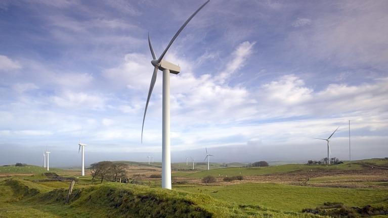 EDF Wind energy site. Credit: EDF Renewables