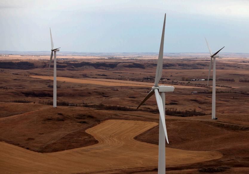 NextEra wind farm located in Oliver County, North Dakota. Credit: NextEra.