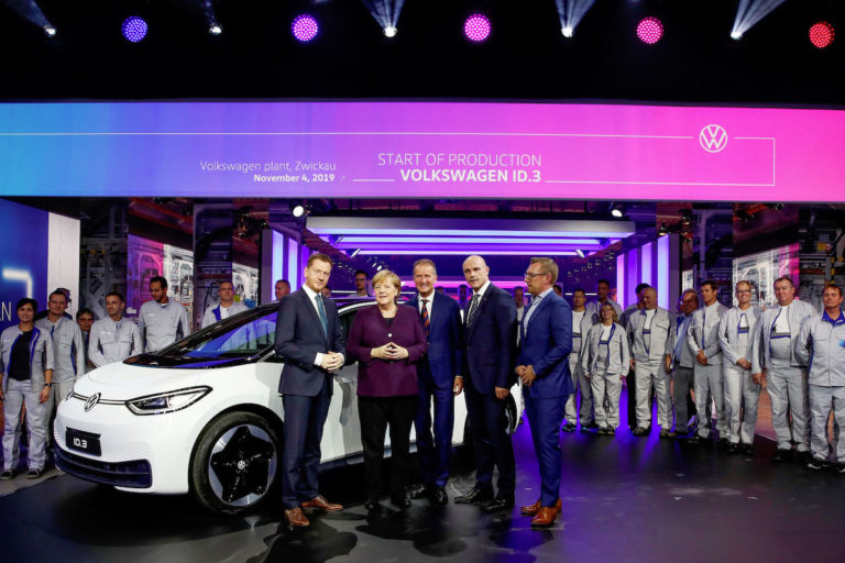 Germany boosts electric-car incentives to stimulate demand