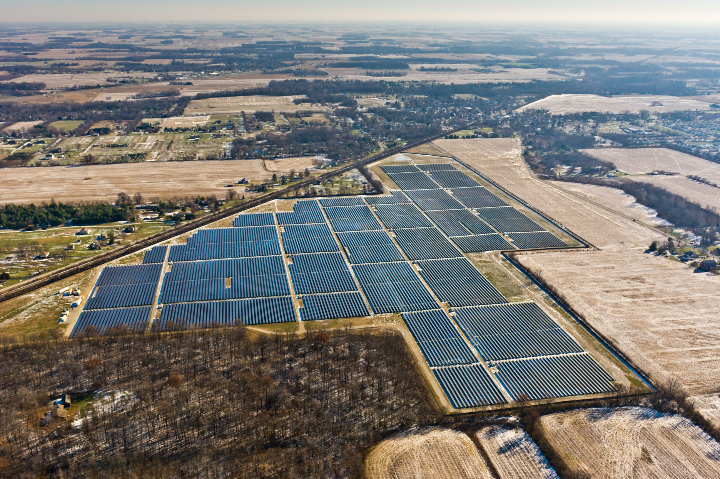 Wood EPC solar project delivered in the U.S_