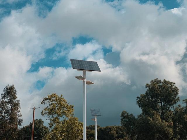 Solar on Lamp