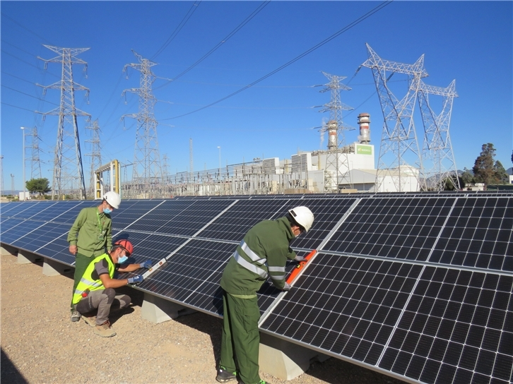 Iberdrola adds $2m solar project to combined cycle plant