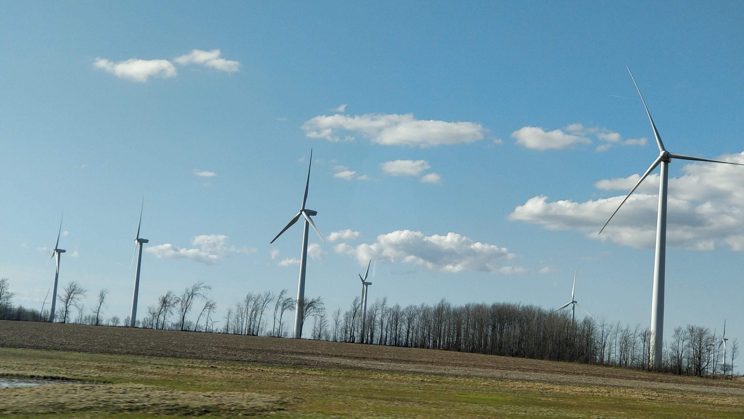 Wind Turbines Titled