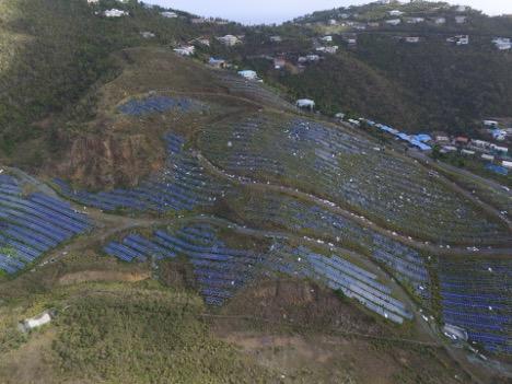 Virgin Group company to restore damaged 6.4-MW solar facility on St. Thomas