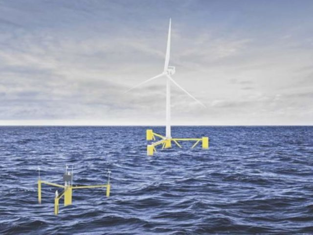 offshore wind and data platforms