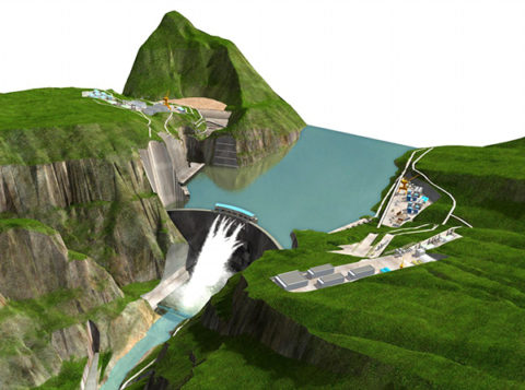 World's second largest hydropower plant begins operating in China