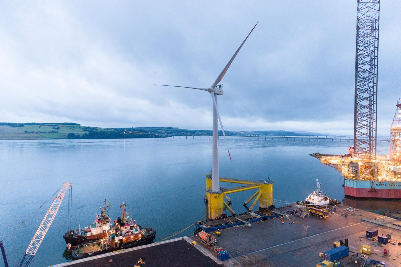 World's largest floating offshore wind farm begins operation