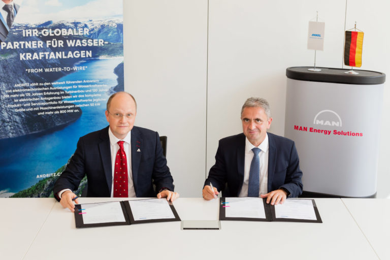 MAN Energy Solutions, ANDRITZ Hydro to produce hydrogen from hydropower